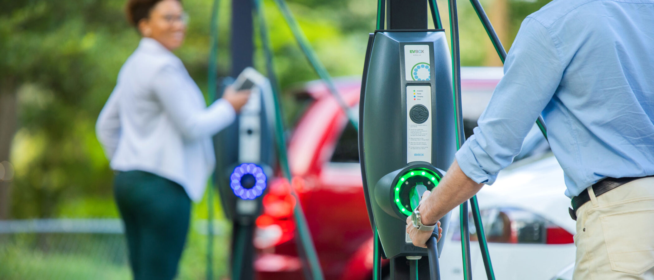 EV Chargers - We can supply and install your EV charger for your home or place of work